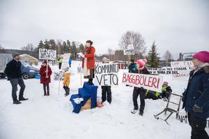 Planer på vindkraftparker i Ragunda har mötts av protester, som här i Överammer.