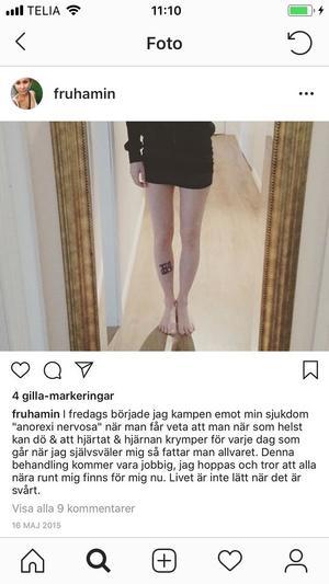 Instagraminlägget.