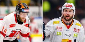 Tom Wandell och Niclas Bergfors spelar ihop igen. Men inte i SSK. Foto: Bildbyrån.