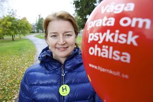 Simone Reiche Nordström är även ambassadör för Hjärnkoll – en nationell kampanj som arbetar för ökad öppenhet kring psykisk ohälsa.