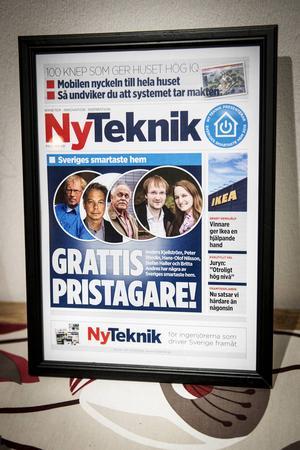 Britta Andres och Stefan Haller från Tyskland bor i ett av Sveriges smartaste hem. De kom tvåa i tidningen Ny Tekniks tävling där Sveriges smartaste hem efterlystes.