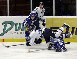 Sundsvall Hockey fick serieledarna Leksand på fall.