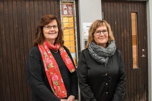 Hälsofrämjaren Solveig Bodare och anhörigsamordnaren Lena Eriksson är glada över satsningen på det förebyggande arbetet. Nu hoppas de att fler än kommunen kan hjälpa till att bidra.
