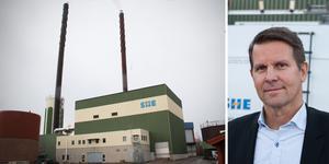 Kraftvärmeverket Silververket i Sala ska renoveras och samtidigt anpassas för att även kunna ta emot returflis. Foto: Mikael Stenkvist/Niklas Storm