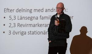 Sone Persson, naturbevakare på länsstyrelsen.