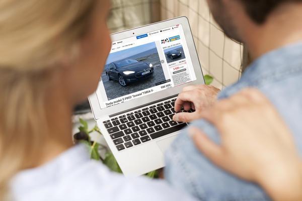 Miljöbilarna ökar i popularitet.Bild: Blocket/pressbild