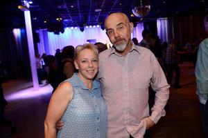 I kasinots nedervåning fanns Helen Westerlund och Marcus Eriksson från Sundsvall tillsammans med många andra danssugna.