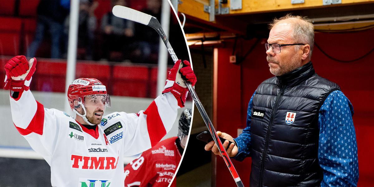 Från doldis till poängkung – Timrås sportchef om centerns succé och kontraktsdilemmat: