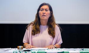 Gisela Stockhaus, ordförande, VSK Bandy