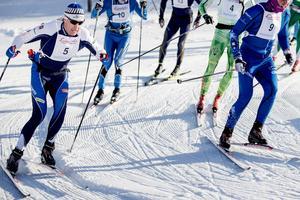 50-årige Peo Svahn blev sensationell trea i Wadköpingsloppet.