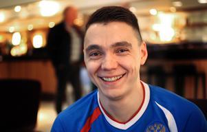 Bandypuls träffade Almaz Mirgazov på ryska spelarhotellet.