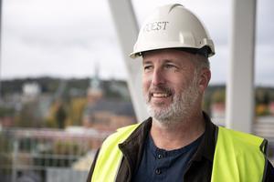 Mats-Ove Eriksson har inte räknat på vad bygget kommer att landa på.