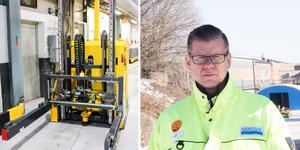 Också övriga truckar borde ställas åt sidan under utredningen av olyckan, menar Kent Näslund, huvudskyddsombud på SMT i Sandviken.