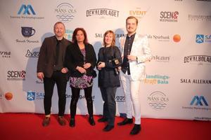 SA:s Mats Wikman, Terese Ahlin, Carola Blank och Ari Korzeniowski fanns alla på plats på Silverglans.