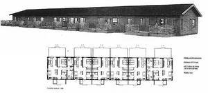 Ritning och skiss på föreslagen byggnation av radhus. Foto: Götenehus