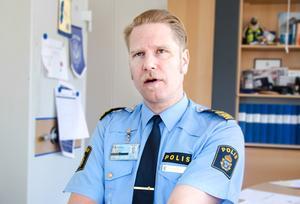 Antalet sexualbrott och våldsbrott brukar öka under sommaren, berättar Josef Wiklund.