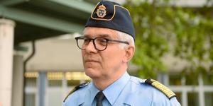 Rikspolischef Anders Thornberg har länge ifrågasatt varför polisen ska sköta tillnyktring av fulla personer: