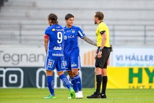 David Batanero bäst i GIF Sundsvall mot Kalmar.foto: Patric Söderström / TT