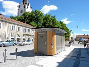 Danfo gör kundanpassade offentliga toaletter och har moderbolaget och tillverkningen i Nora.