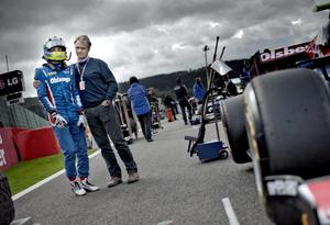 2011: Marcus och Eje på Spa i Belgien. Arkivfoto: Pavel Koubeck
