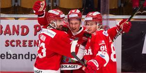 Jens Lööke gjorde första målet. Bild: Pär Olert/Bildbyrån