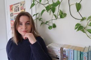 Josefiné Josefsson är årets Lars Gustafsson-stipendiat. Foto: Matilda Bergman