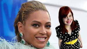 Beyoncé och Fridah Jönsson. Foto: TT/DT