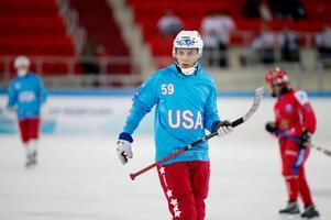 Peace & Love:s Kevin Brown är en av de svenska spelarna i det amerikanska laget. Bild: Jessica Gow/TT
