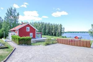 7 944 klick under förra veckan innebar en tredjeplats på Klicktoppen för denna friliggande vill i Sunnanö, Borlänge.Foto:  Ulrika Lundholm Eriksson