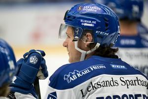 Fredrik Forsberg i LIF-tröjan. Foto: Daniel Eriksson/Bildbyrån