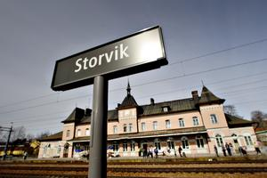 Storvik station.