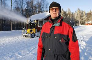 Rolf Berglöf, ordförande i föreningen Hurtigtorpsalliansen.