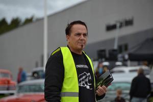 Foto: Privat.Bosse Hårdén har styrt upp en bilfestival på Lugnet.