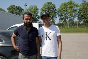Peshraw Azizi och Ahmed Awad är två Dalkurdprofiler som båda nu lämnar klubben.