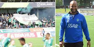 Klebér Saarenpääs IK Brage hänger på i toppen av Superettan efter söndagens 3–1-seger mot Dalkurd. Foto: Stefan Ericson/Kristian Bågefeldt