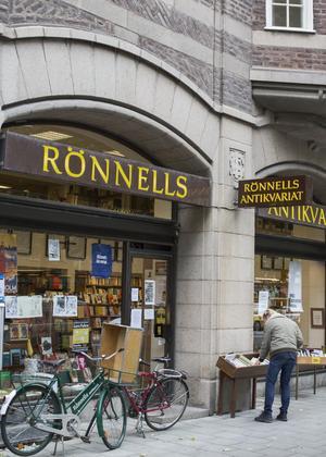 Rönnells antikvariat i Stockholm. Foto: Carl Bredberg/SvD/TT