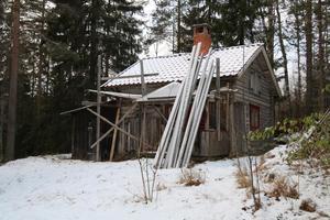 Denna fäbodstuga, med tillhörande skog, i Rossberg, Mora kommun, hamnade på plats åtta på Klicktoppen för Dalarnas del.Foto: Anna Beronius/LRF Konsult