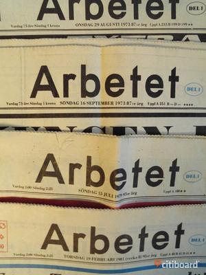 Tidningen Arbetet  i Malmö  lades ned år 2000.