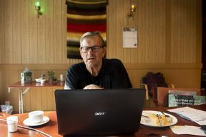 Mats Hägglund, boende i Degersjö utanför Trehörningsjö, berättar om Kerstins Uddes historia.