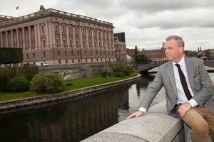 Foto: Per HelgosonLämnar riksdagshuset. Lars Eriksson (S) gör sin sista dag som riksdagsman på måndag.