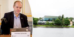 Insändarskribenten skriver i sin replik att Andreas Sjölander (S) bör publicera tjänstekoncessionsavtalet gällande simhallen i Härnösand.