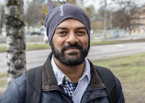 Erik Åhlin, 38 år, it-konsult, Skottsund