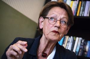 Gudrun Schyman, avgående partiledare för Feministiskt initiativ. Foto: Johan Nilsson