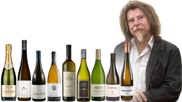 Dryckesexpert Sune Liljevall skriver denna vecka om vita exklusiva vinnyheter på Systembolaget. Bild: Sune Liljevall