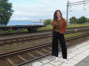 """Maria Lingfors lämnade Jönköping direkt efter gymnasiet. Hon kan tänka sig att flytta tillbaka, någon gång: """"Just nu handlar det mycket om jobbet, jag tänker inte jättemånga steg framåt""""."""