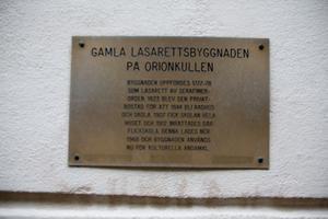 Byggnaden är från 1700-talet.