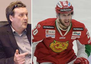 Peter Hermodsson och Mora kommer den dag Kevin Goumas är hel välkomna honom tillbaka. Foto: Sporten//TT.