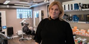 Ewa Andersson Dicander öppnade salongen i Ludvika 2008. Nu har hon chansen att kamma hem den prestigefulla titeln Årets företagare.