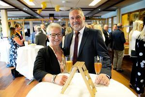 Företagarna Marie Magnusson och Myles Dean gästade galan.
