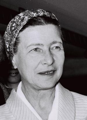 Den franska filosofen och feministen Simone de Beauvoir influerades av Christine de Pizan.  Foto: Moshe Milner